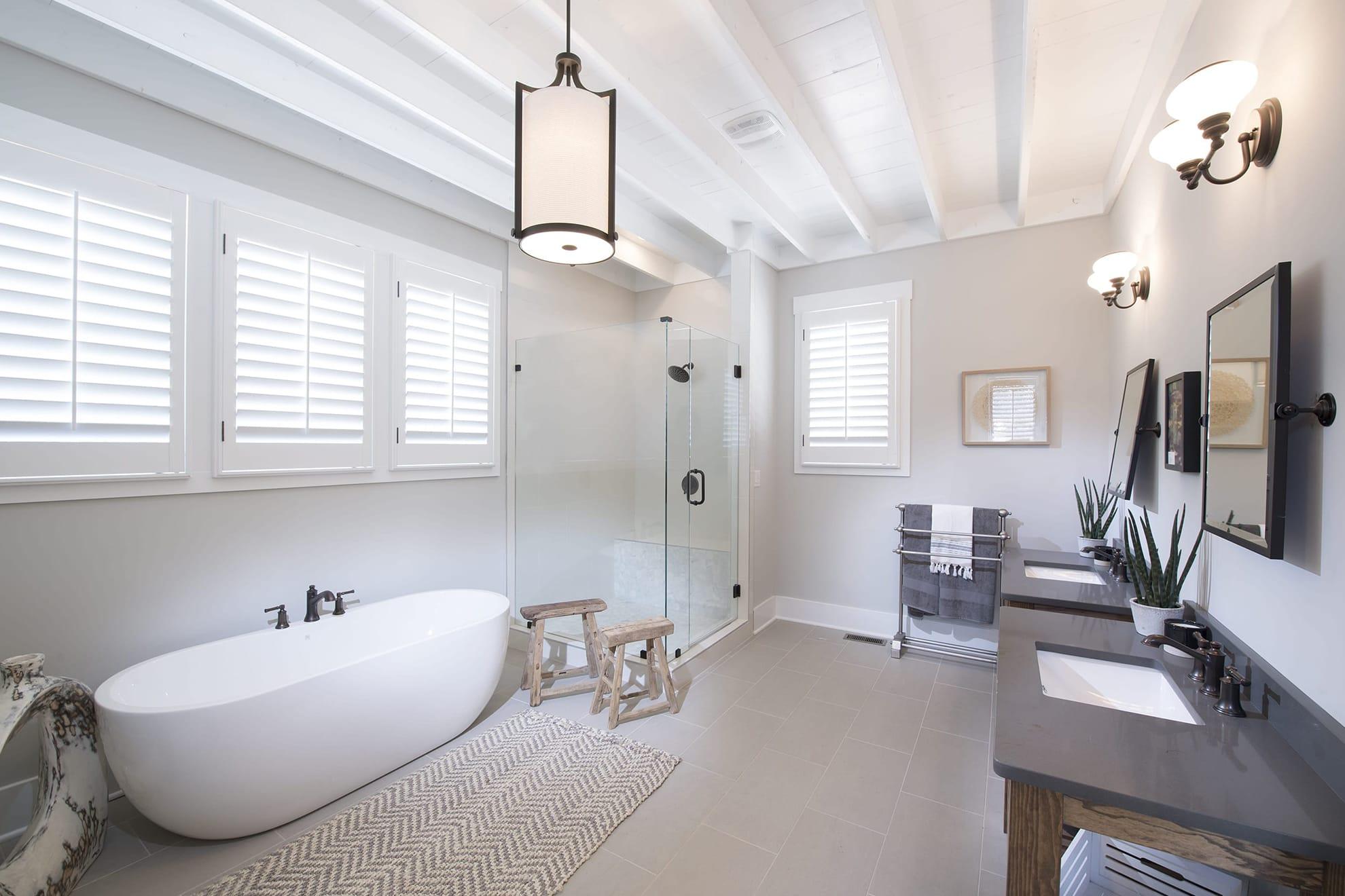 Master Bath Custom Ceiling